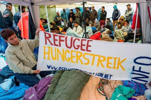 Asylbewerber in München: