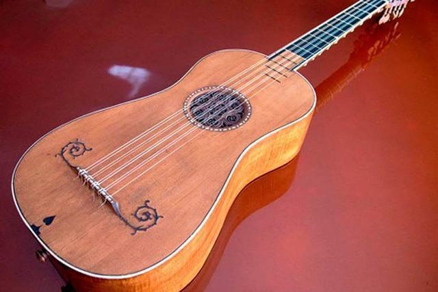 Stradivari-Gitarre erklingt in Altdorf