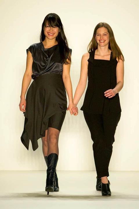 Die deutschen Designerinnen Tutia Schaad (L) und Johanna Perret  | Foto: usage Germany only, Verwendung nur in Deutschland