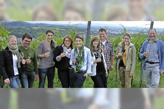Weinhoheiten sind zu Gast in Lahr