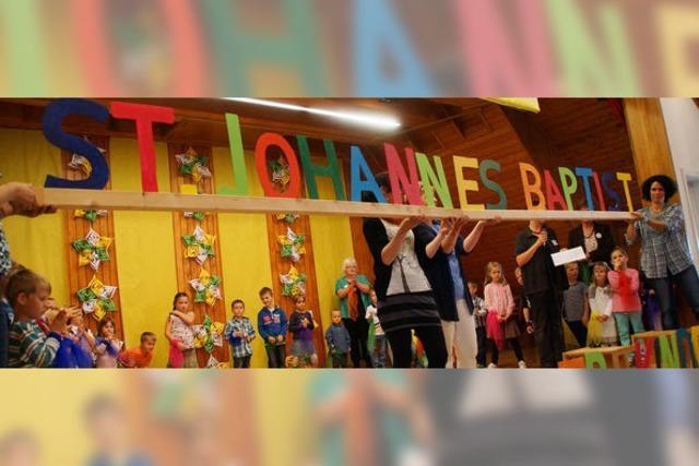 Kindergarten wurde getauft auf den Namen Johannes des Täufers