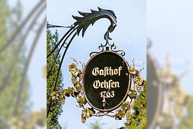 Der Landgasthof Ochsen: Schatzkästlein im Dorf