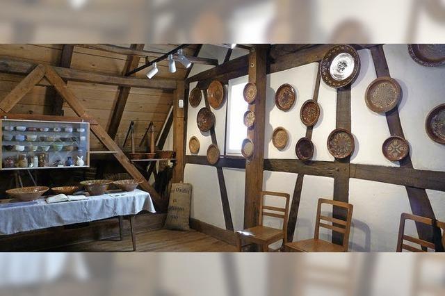 300 Besucher sahen Keramiken der Messerschmidts