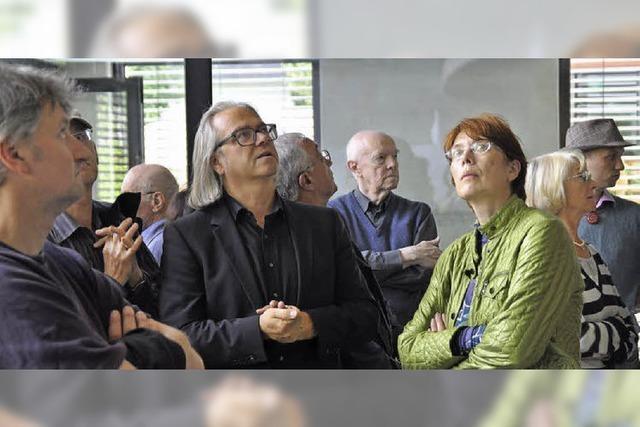 Besucher bestaunten vier Musterbauten im Westen des Landkreises
