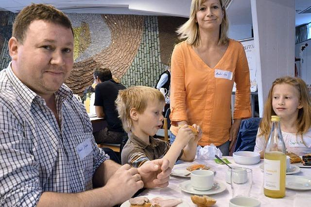 Landkreis erntet beim Frühstück Lob und Kritik