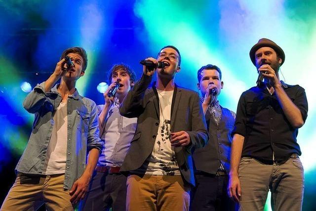 Fotos: A-cappella-Nacht beim ZMF in Freiburg