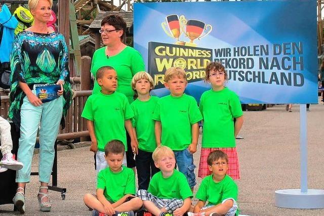 Ettenheimer Kindergarten will Weltrekord im Schnürsenkelbinden aufstellen