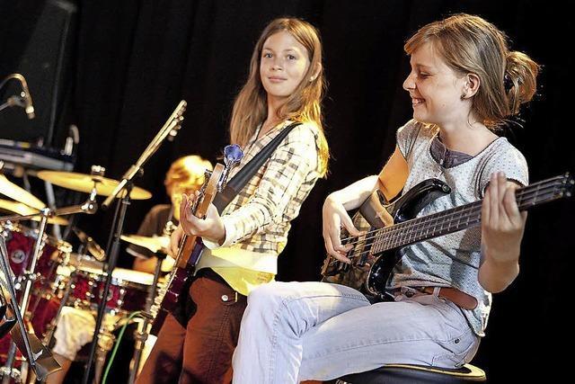 Jazz- und Rock-Hock in Freiburg