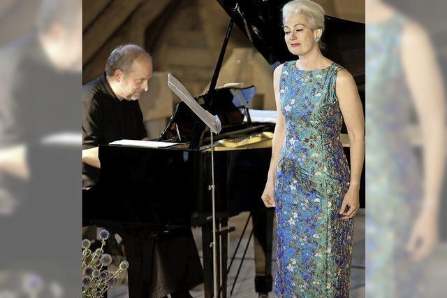 Liederabend mit Györgyi Dombrádi in Freiburg
