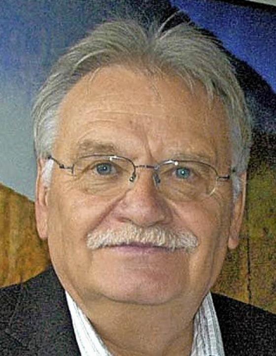 Hans-Peter Mösch sieht Perspektiven für den Hafen.     Foto: Privat