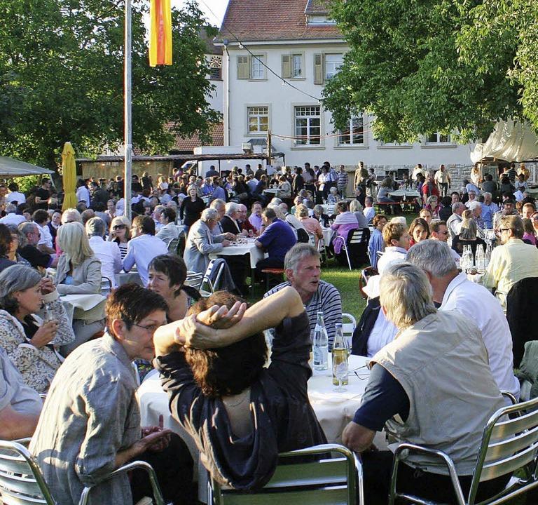 """Alle zwei Jahre wieder lockt """"We... Garten"""" zum Museum Alte Schule.    Foto: archivbild: cremer"""