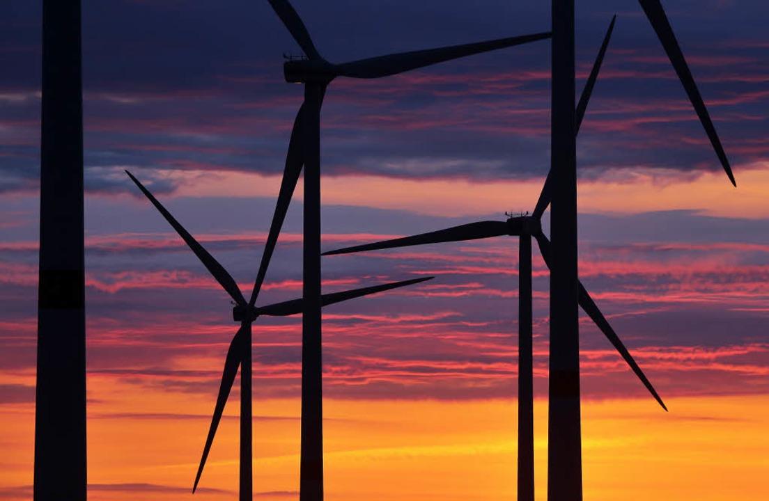 Gegner der Windkraft machen auch in Schuttertal mobil.   | Foto: dpa/jens Woitas