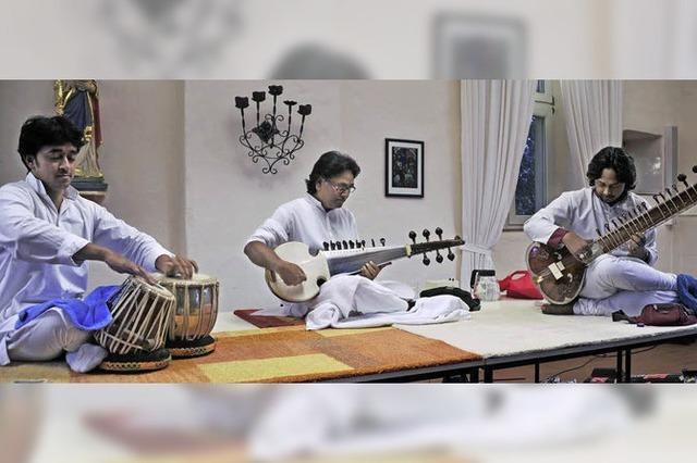 Indische Klassik von Maharaj Trio in der Vauban