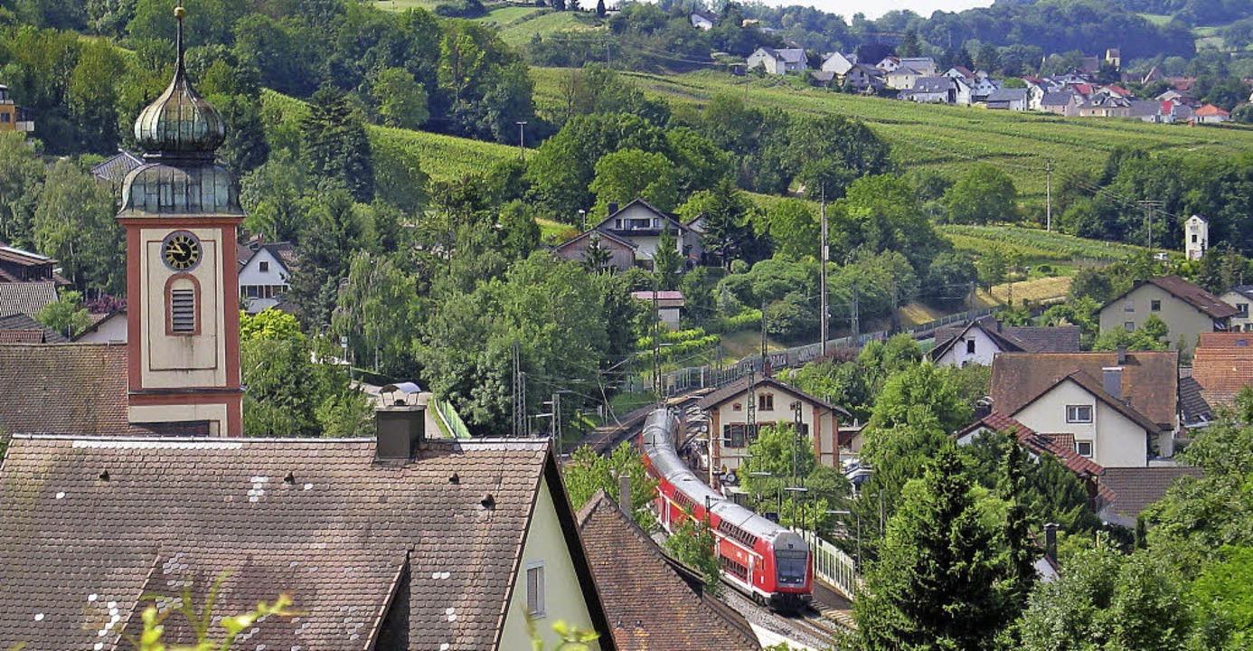 Bad Bellingen Regionalzug  | Foto: Jutta Schütz