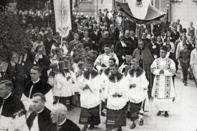 Der spätere Papst Pius XII. im Blasiusdom
