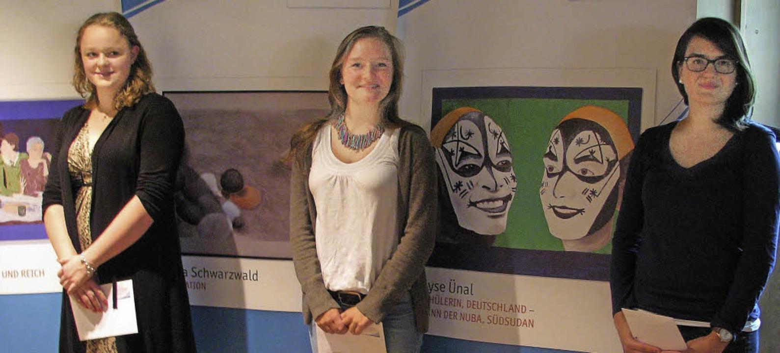 Überzeugten die Jury mit ihren Arbeite...chwarzwald und Ayse Ünal (von links).     Foto: Monika Rombach