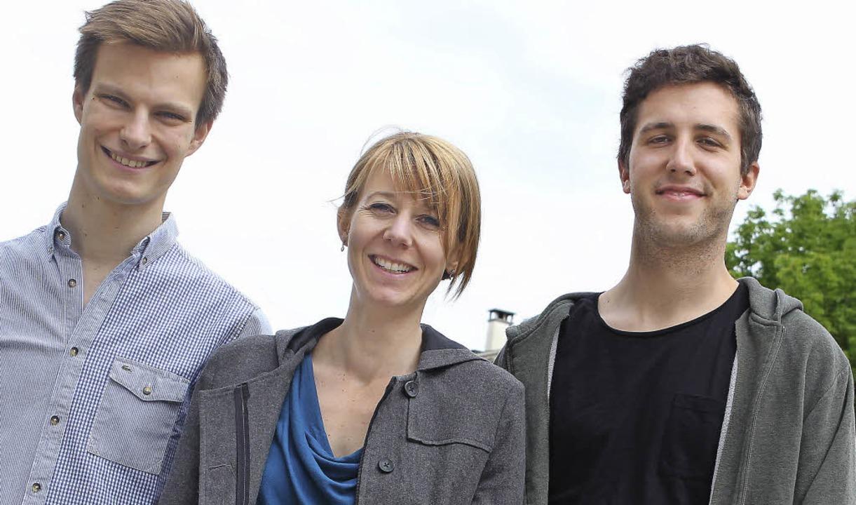Die Macher: Sebastian Kölliker ( links), Joëlle Perret und Alain Schnetz   | Foto: Klassen