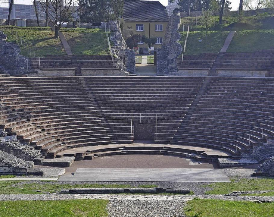 Ein außergewöhnlicher Spielort: das Römertheater in Augst.   | Foto: Gramespacher
