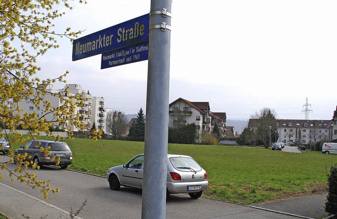 Die letzte große Freifläche im Bereich...mpring/Neumarkter Straße wird bebaut.     Foto: Ralf Staub