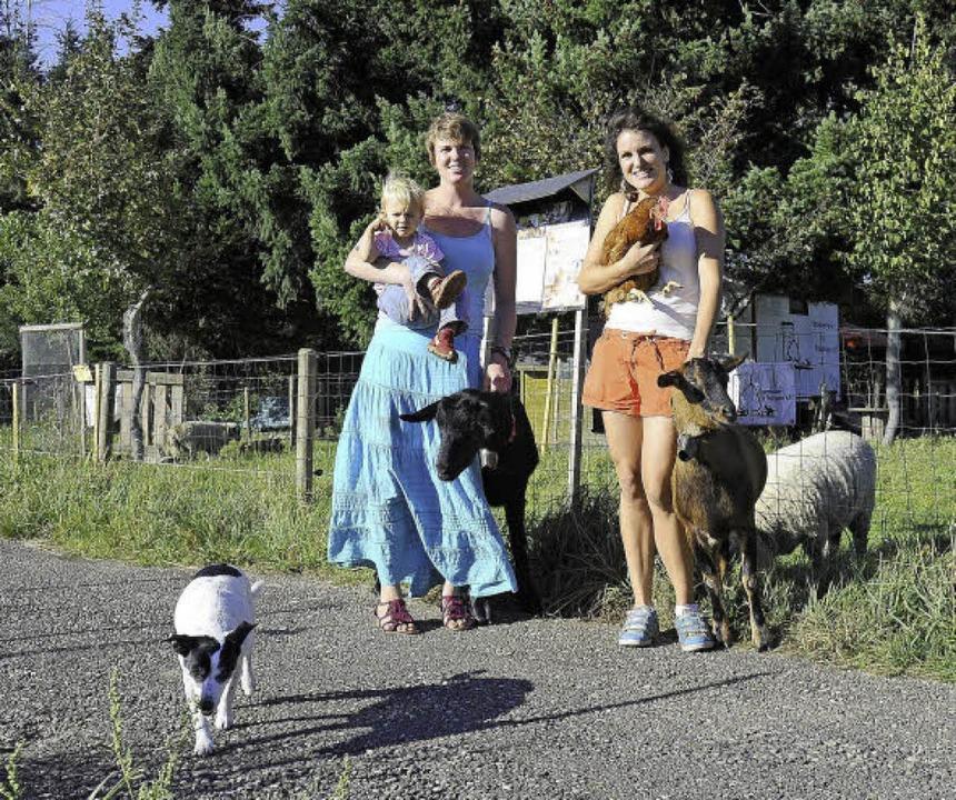 """Schon seit 2011 kämpfen Cora (links) u...r Stadtkinder"""" gefährdet sähen.     Foto: Archivfoto: Schneider"""