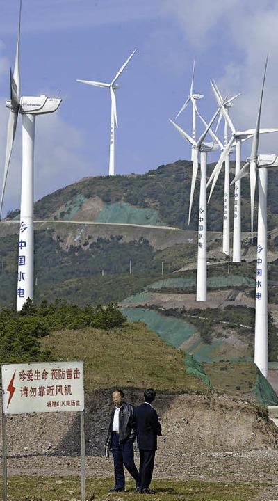 Die chinesische Stadt Dali in der Prov...epartner. Von Mengzi gab es kein Foto.  | Foto: AFP