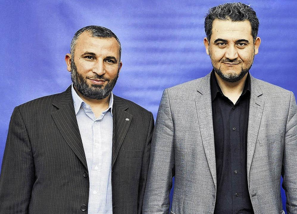 Ahmet Ölmez (links) ist der Vorsitzend...Beauftragte für Öffentlichkeitsarbeit.    Foto: HAHNE