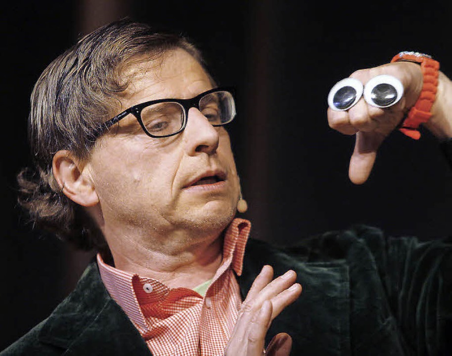 Günter Fortmeier als Handkünstler.   | Foto: Heidi Fössel