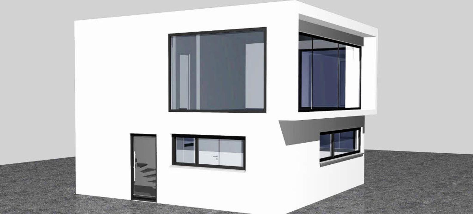 Blick in die Zukunft: So sieht der erw...ro>kuri architekten.</BZ-FotoNurRepro>    Foto: Privat