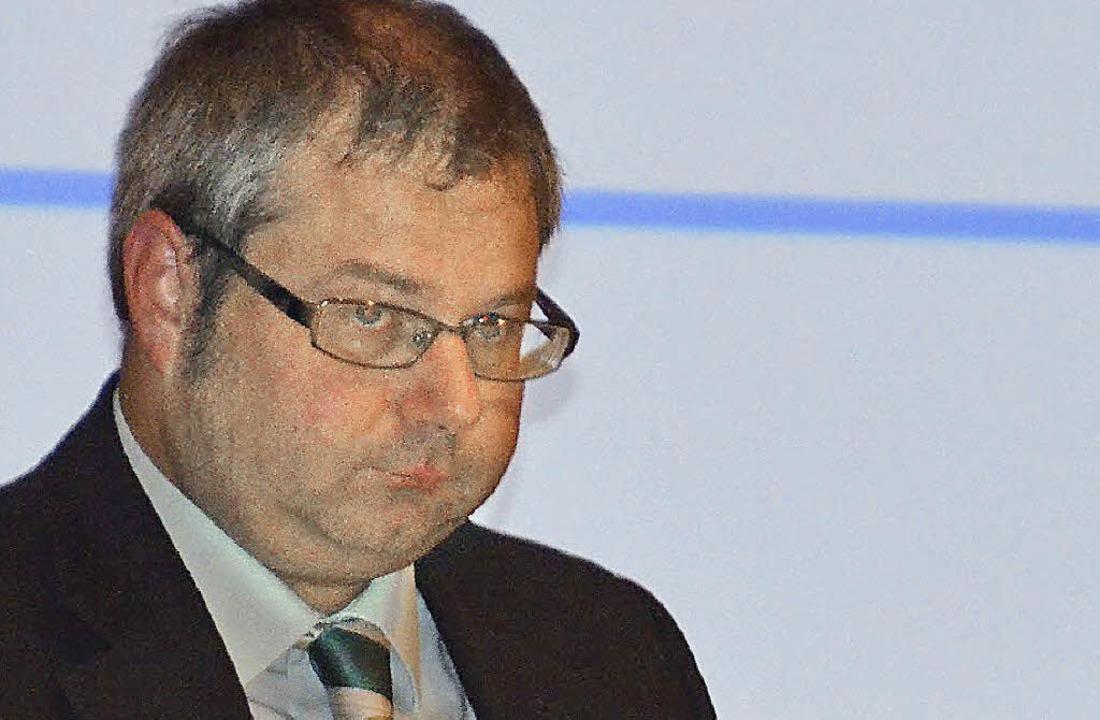Ist mit dem Grundkapital der Genossens...eden: Vorstandsmitglied Alexander Guhl  | Foto: hrvoje miloslavic