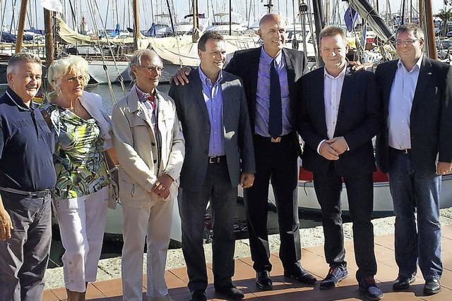 Ein europäisches Freundschaftstreffen an der Mittelmeerküste