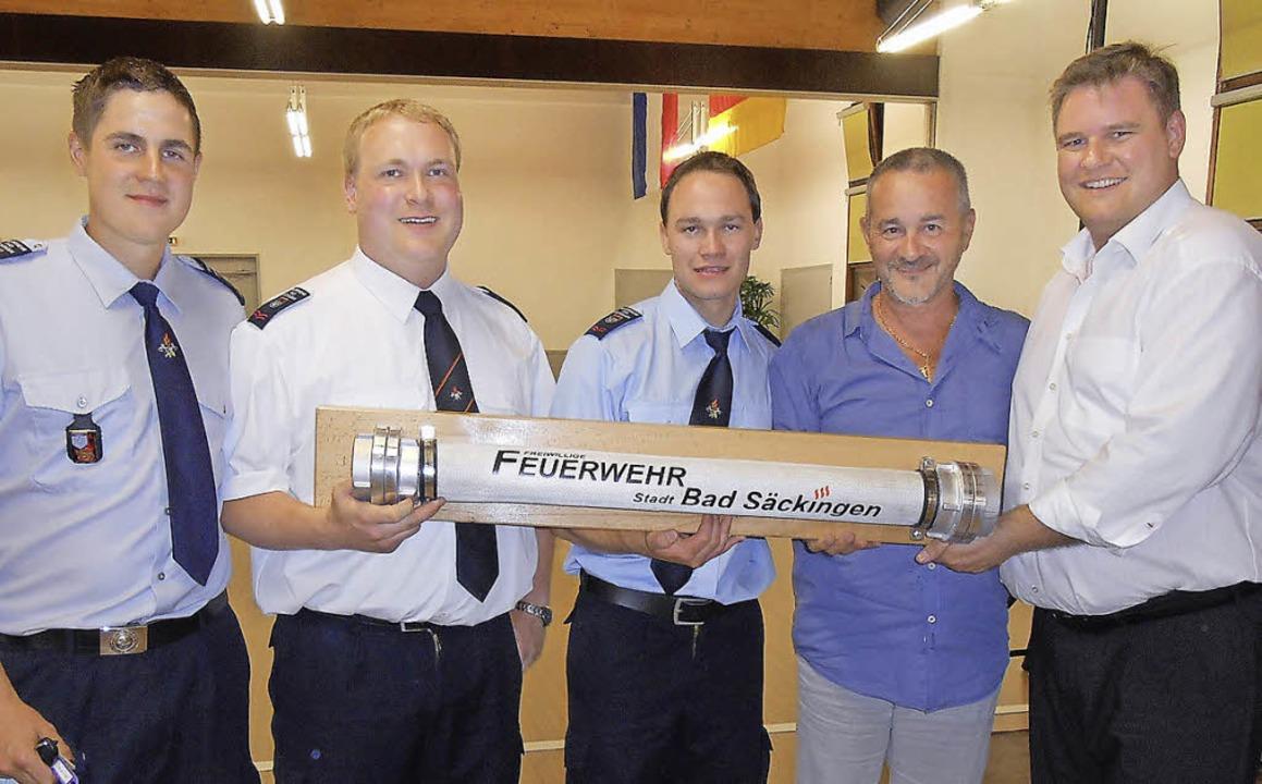 Bad Säckinger Feuerwehr zu Gast in Sanary-sur-Mer  | Foto: bz