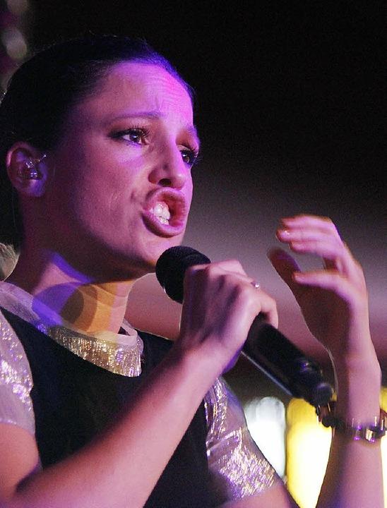 Sie ist eine sehr körperliche Sängerin: Carminho  | Foto: Wolfgang Grabherr