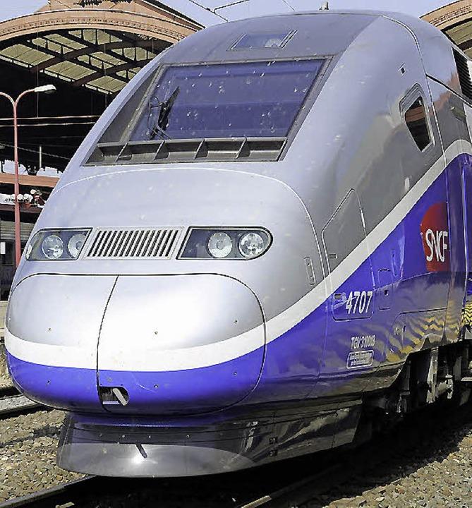 Erst nach 2030 rollt der TGV auf eigenem Gleis nach Mulhouse-  | Foto: dapd