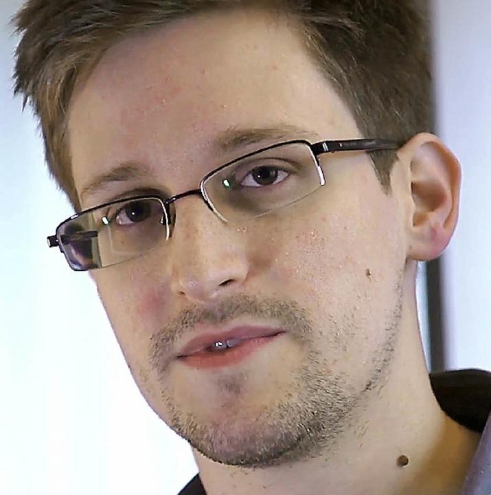 Edward Snowden     Foto: dpa