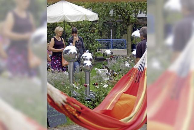 Treffpunkt für Gartenfreunde