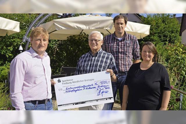1500 Euro für Palliativ-Zimmer