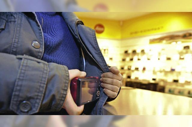 Kampf gegen Ladendiebe