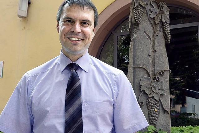 Michael Bruder will erneut Bürgermeister in Eichstetten werden