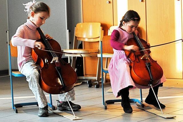 1031 Stunden Musikunterricht für 3369 Schüler in der Woche