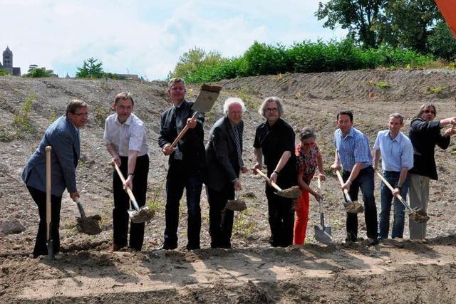 Baustart für das neue Seniorenzentrum an der Zeppelinstraße