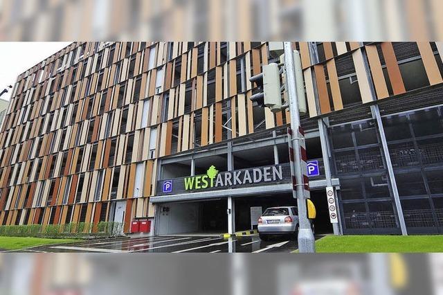 Hochgarage der Westarkaden: Parkscheibe vergessen? 40 Euro