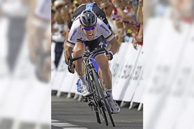 Tour de France: Keine Chance gegen Cavendish und Co.