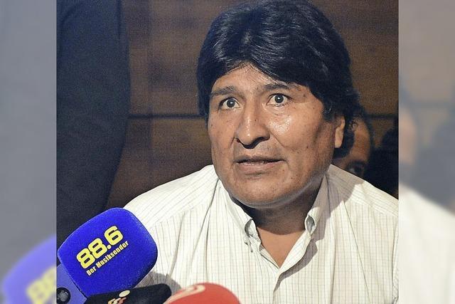 Fall Snowden: Evo Morales' unfreiwillige Landung