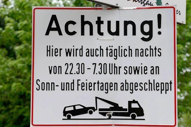 ZMF-Fans: Real lässt Falschparker abschleppen