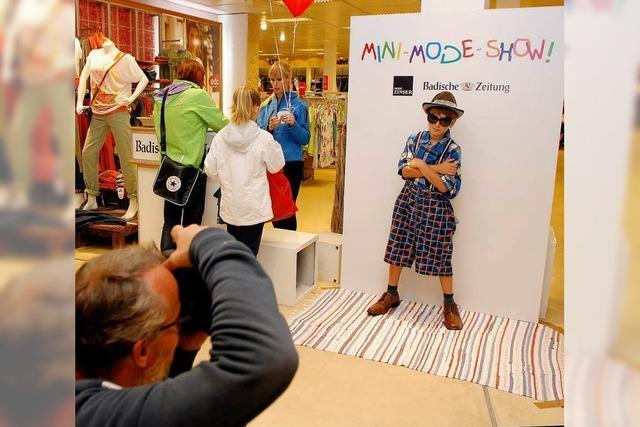 Wettbewerb zur Mini-Mode-Show