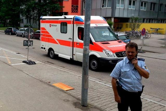 Bombendrohung in Krankenhaus - Polizei gibt Entwarnung