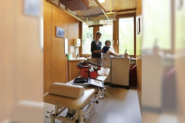 Bereitschaftsarzt hilft im Klinikum