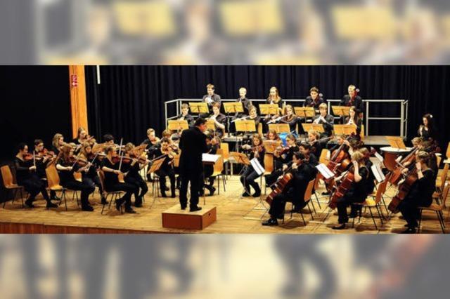 Sinfonietta der Musikschule Freiburg spielt beim Ebneter Kultursommer