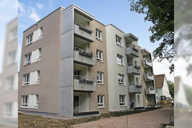 23 neue seniorengerechte Wohnungen