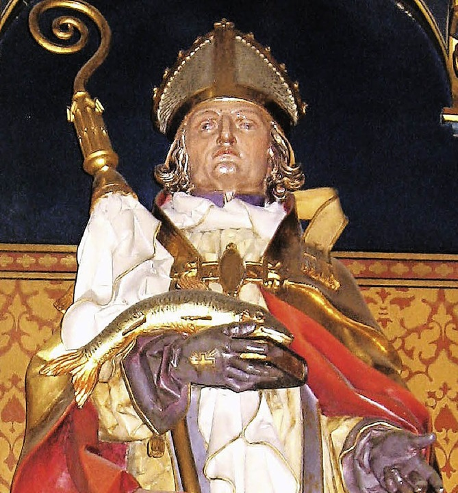 Sankt  Ulrich ist Patron der Öflinger Pfarrkirche.   | Foto: Alfons Ebner